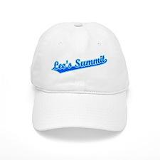 Retro Lee's Summit (Blue) Baseball Cap