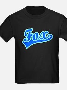 Retro Fox (Blue) T