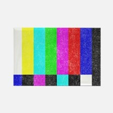 Off Air TV Bars Rectangle Magnet