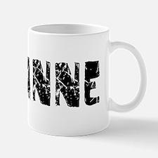 Shyanne Faded (Black) Mug