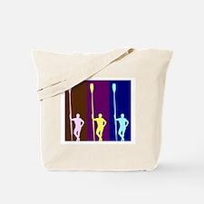 THREE ROWERS DARK Tote Bag