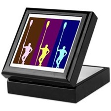 THREE ROWERS DARK Keepsake Box