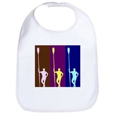 THREE ROWERS DARK Bib