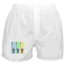 THREE ROWERS BRIGHT CHALK Boxer Shorts