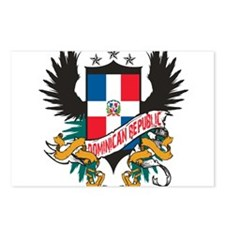 Cute Dominican pride Postcards (Package of 8)