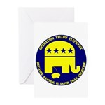 Operation Yellow Elephant Greeting Cards (Package