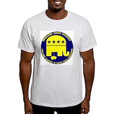 Operation Yellow Elephant Ash Grey T-Shirt