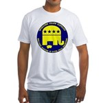 Operation Yellow Elephant Fitted T-Shirt