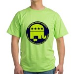 Operation Yellow Elephant Green T-Shirt