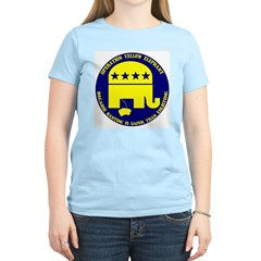 Operation Yellow Elephant Women's Pink T-Shirt