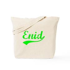 Vintage Enid (Green) Tote Bag