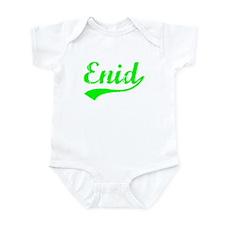 Vintage Enid (Green) Infant Bodysuit