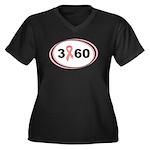 3 Days 60 Miles 1 Cause Women's Plus Size V-Neck D
