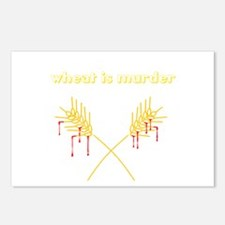 Wheat Is Murder Postcards (Package of 8)