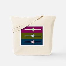 THREE SCULLS DARK Tote Bag