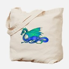 Bummed and Blue Dragon Tote Bag