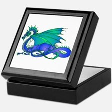 Bummed and Blue Dragon Keepsake Box