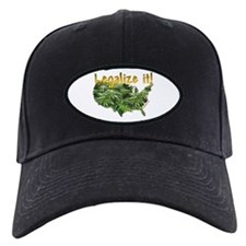 Legalize Ganja Marijuana Baseball Hat