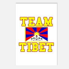 TEAM TIBET Postcards (Package of 8)