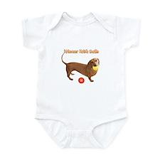 Wiener with Balls Infant Bodysuit