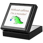 CAFFEINE MONSTER Keepsake Box