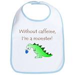 CAFFEINE MONSTER Bib