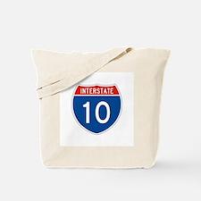 Interstate 10, USA Tote Bag