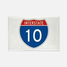 Interstate 10, USA Rectangle Magnet
