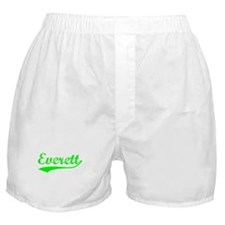 Vintage Everett (Green) Boxer Shorts