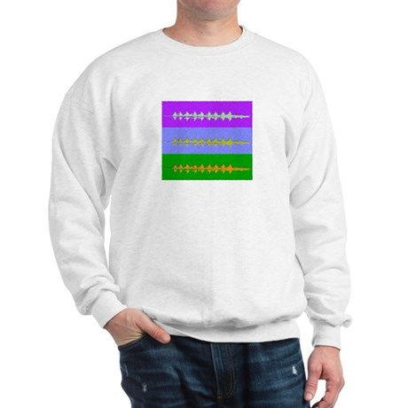 THREE CREWS PAINTED Sweatshirt
