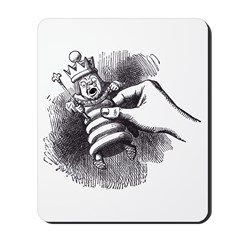 White King Mousepad