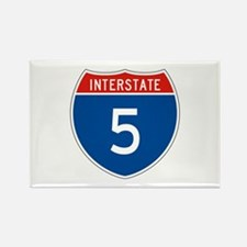 Interstate 5, USA Rectangle Magnet