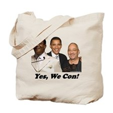 """""""Yes, We Con"""" Tote Bag"""