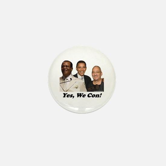"""Yes, We Con"" Mini Button"
