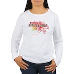 Awesome Racing 4 Women's Long Sleeve T-Shirt