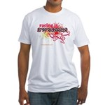 Awesome Racing 4 Fitted T-Shirt