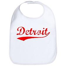 Vintage Detroit (Red) Bib