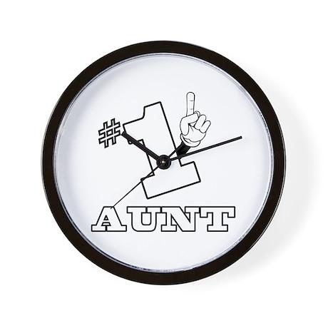 #1 - AUNT Wall Clock
