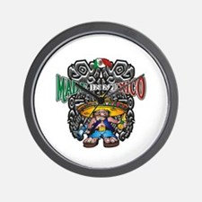 Made in Mexico mariachi Wall Clock