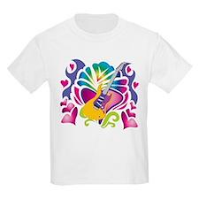 Colorful Guitar T-Shirt