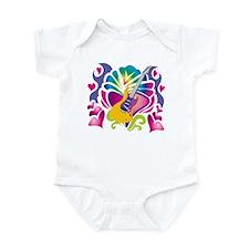 Colorful Guitar Infant Bodysuit