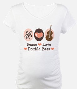 Peace Love Double Bass Shirt