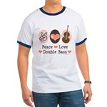 Peace Love Double Bass Ringer T