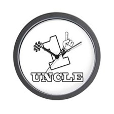#1 - UNCLE Wall Clock