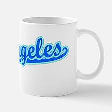 Retro Los Angeles (Blue) Mug