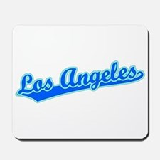 Retro Los Angeles (Blue) Mousepad