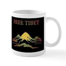 FREE TIBET Small Mug