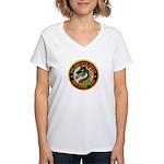 Philly Anti Gang PD Women's V-Neck T-Shirt