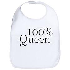 100% Queen Bib