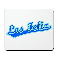 Retro Los Feliz (Blue) Mousepad